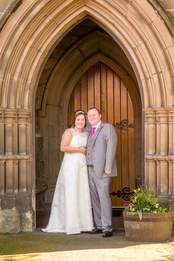 Leicestershire wedding photographer: James and Ruth at Oadby