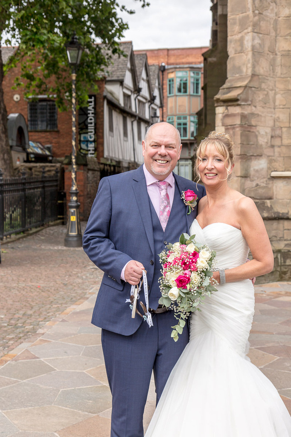 Wedding photography: Tim and Natalie at The Guildhall, Leicester