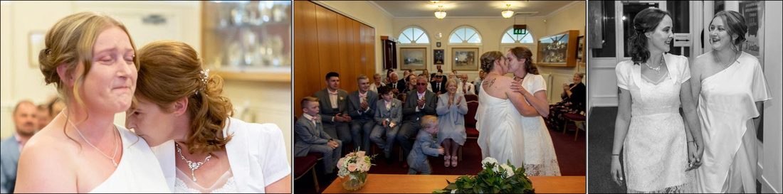 Mayor's Parlour Kettering and The Grampian Corby wedding