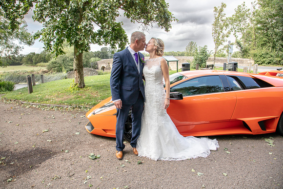 Andy and Michelle in Felmersham, Bedfordshire