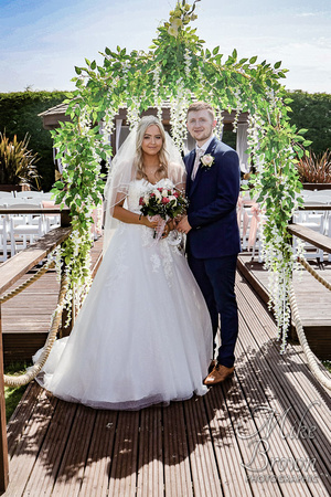 Shaun and Katie at the Best Western Rockingham Forest Hotel