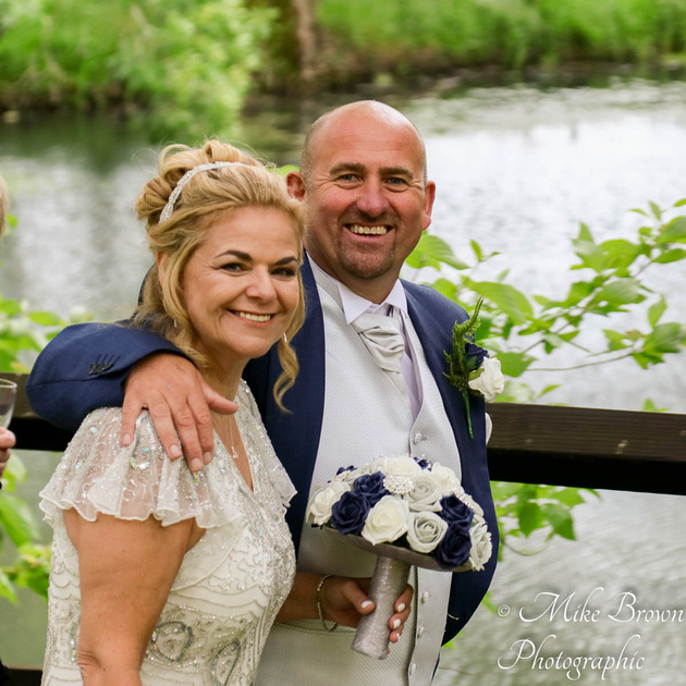 Kev and Verity at Staverton Park Hotel, Daventry