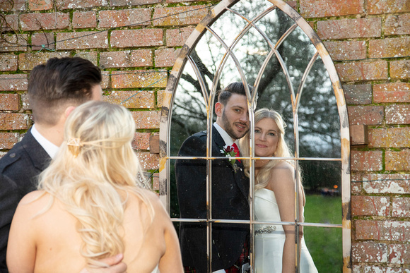 James and Sherry at Dodmoor House