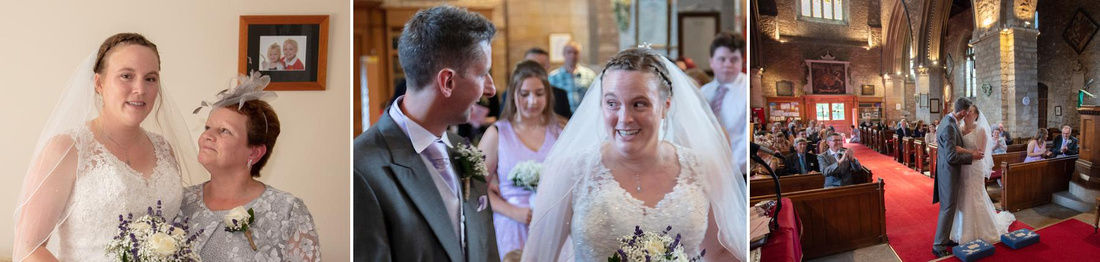 Steve and Laura's wedding at Elstow Abbey and Woodland Manor Hotel