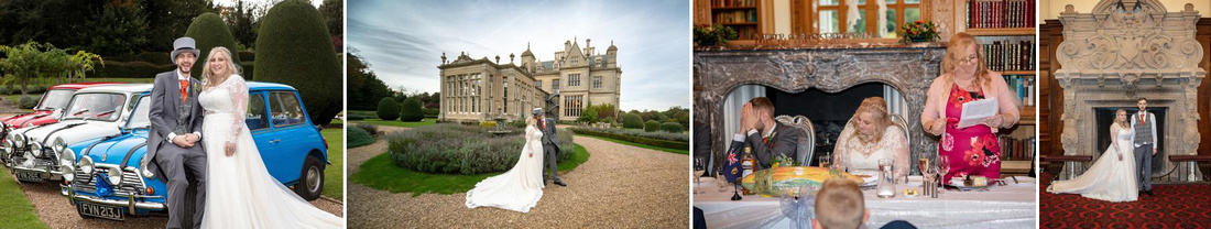 Andrew and Paige's wedding in Lincoln and Stoke Rochford Hall, Grantham