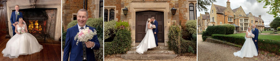 Mike and Caroline's wedding at Highgate House, Northamptonshire