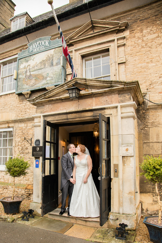 Peterborough Wedding Photographer: Michael and Emma at The Haycock Hotel, Wansford