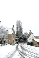 Snow at Stanion, near Corby, Northamptonshire