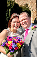 James and Ruth's wedding at Oadby and Ullesthorpe, Leicestershire