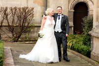 Julian and Trisha at Rushton Hall