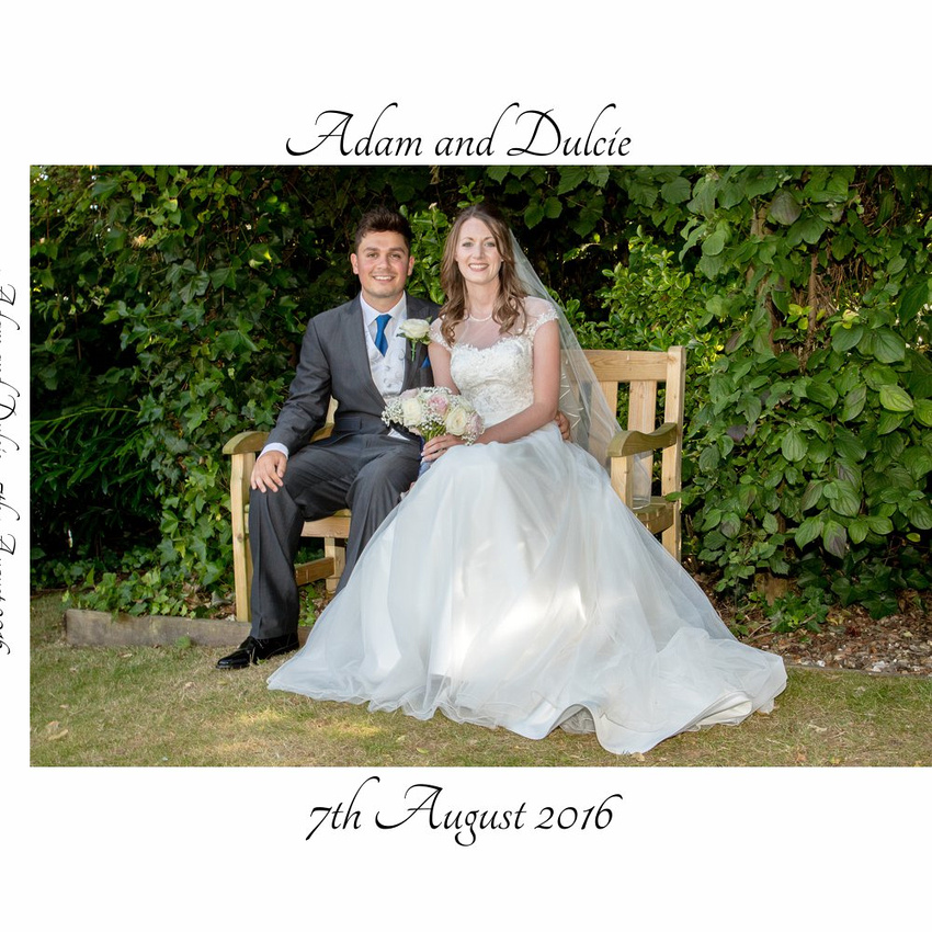 Wedding Album Design: Adam and Dulcie at Kettering Park Hotel