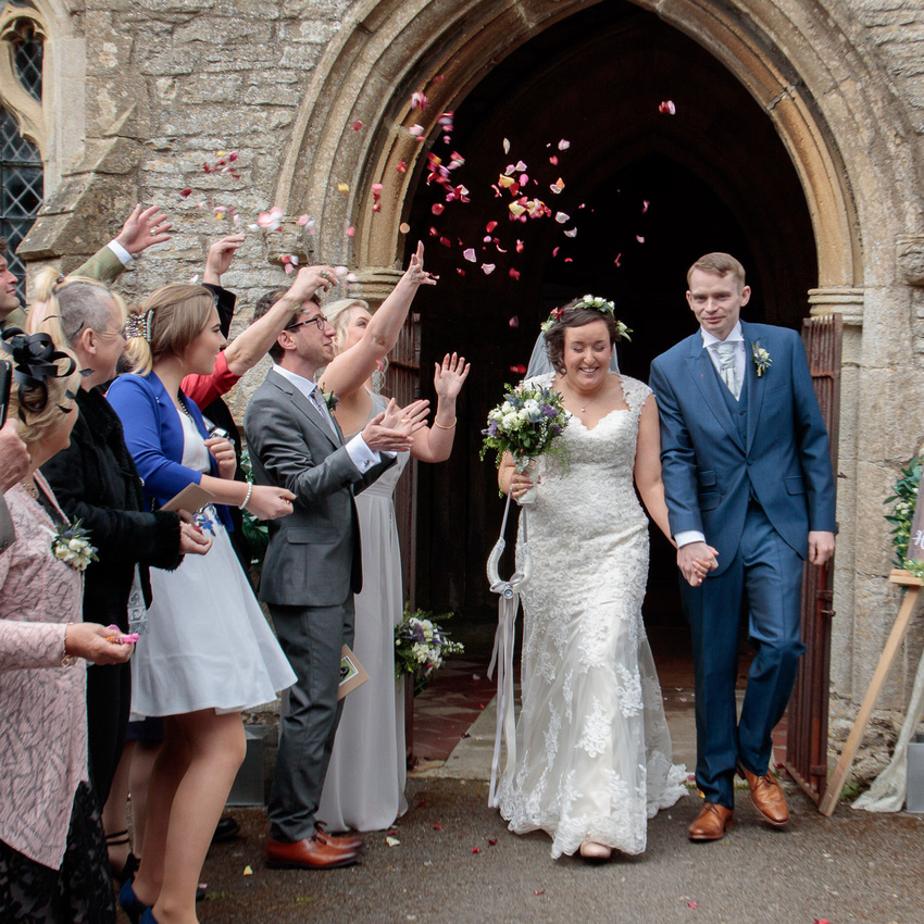 Andrew and Katie at Catworth and The Stanwick Hotel