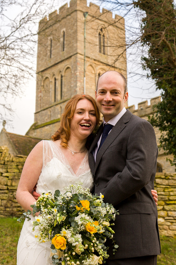 Bruce and Aili's wedding photography in Felmersham, Bedfordshire