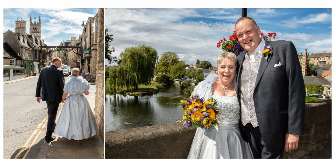 Wedding album: Peter and Kate in Stamford and Peterborough