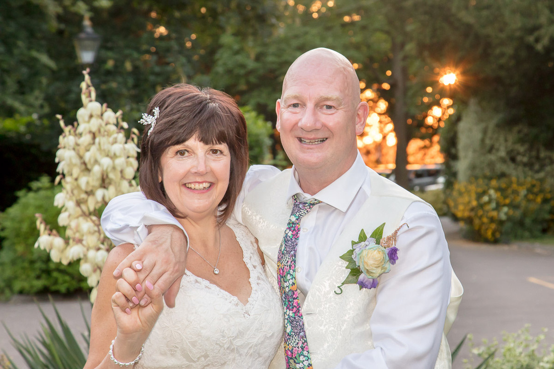 Andy and Jackie at Woodland Manor Hotel, Bedford
