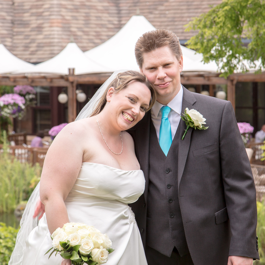Jonathan and Sara's wedding photography at St Mary's, Rushden and the Kettering Park Hotel